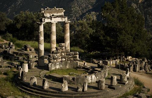 Tholos at Delphi