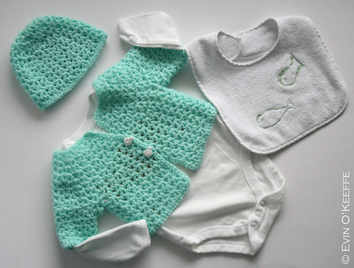 Possibly the Cutest Fish-themed Baby Set Ever
