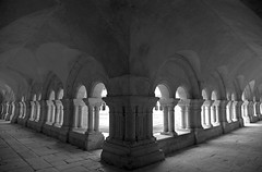 Fontenay Abbey Cloisters - Photo of Fontaines-en-Duesmois