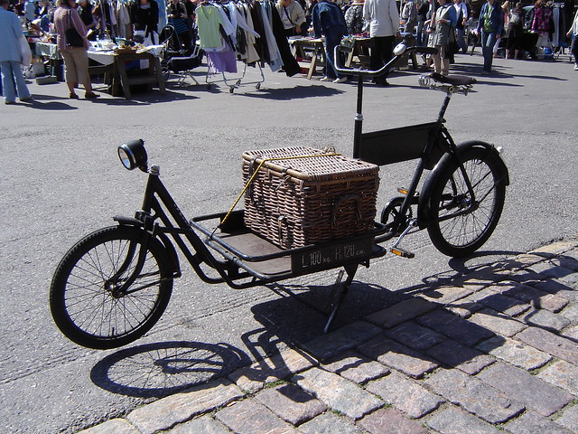 Old time carrier bike