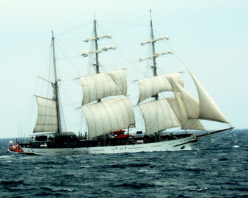 Tall Ship Passing