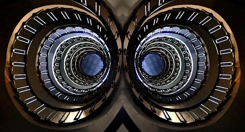 Binocular stairs