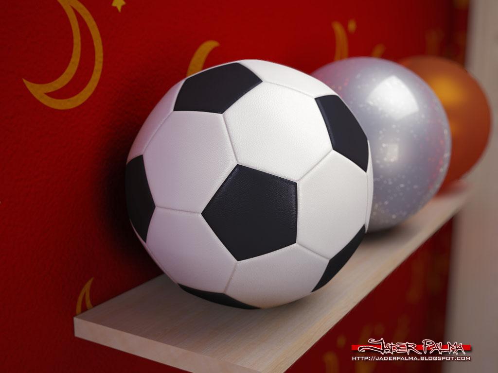 Bola de futebol by Jader Palma