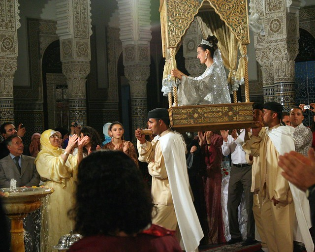 Royal Moroccan wedding: Prince Moulay Rachid marries in colorful ...