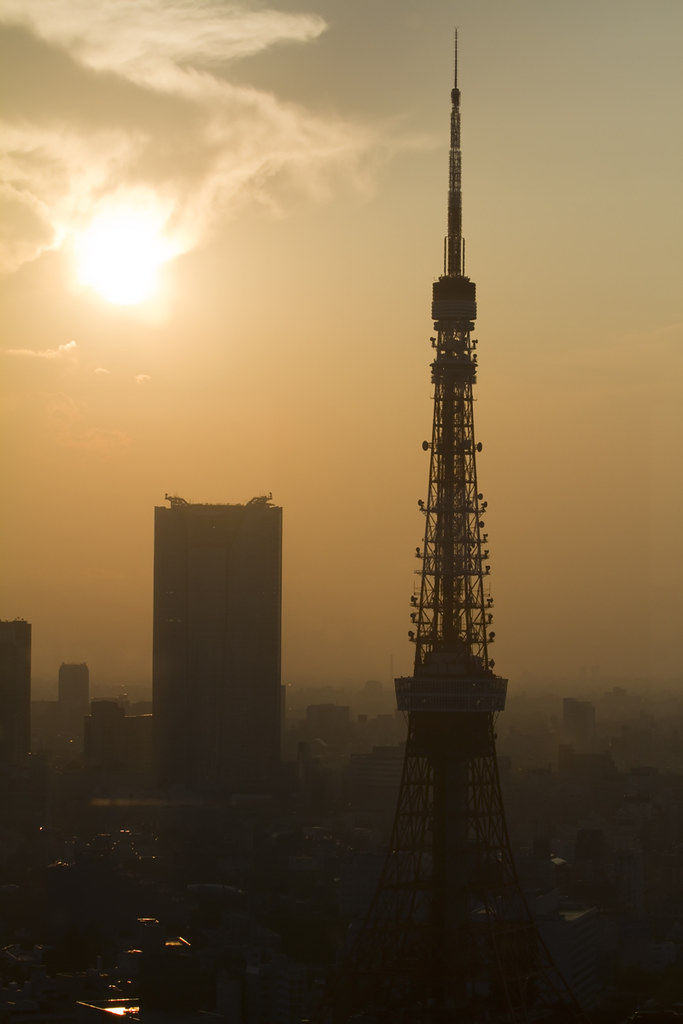 Tokyo - Tokyo Tower at Sunset