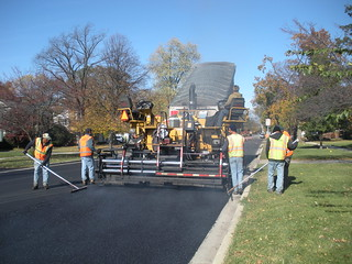 Asphalt Paving on Anderson Blvd in Geneva IL