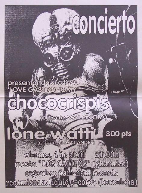 Chococrispis+Lone Watti