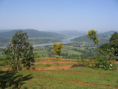 View of Vasishthi river in Chiplun