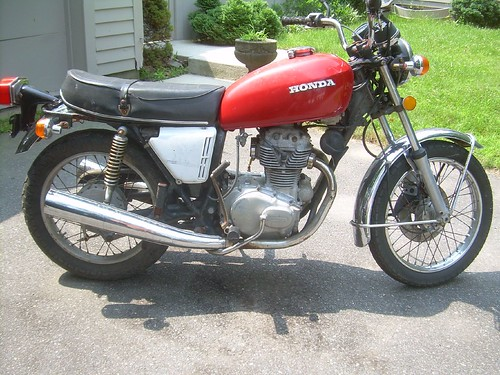 1974 Honda Cb360  U2013 Evan Fell Motorcycle Works
