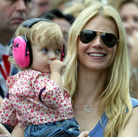 Gwyneth Paltrow, with daughter Apple, says husband Chris ...