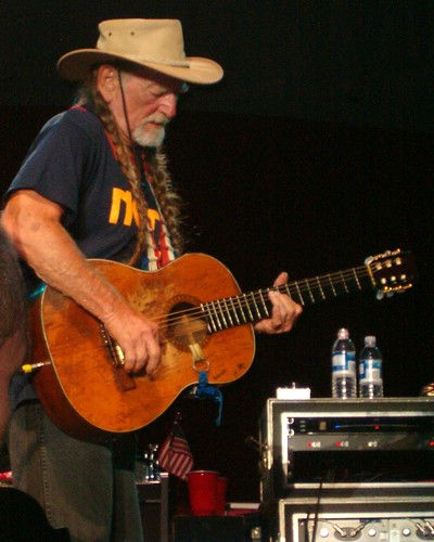 willie nelson and his guitar. Black Bedroom Furniture Sets. Home Design Ideas