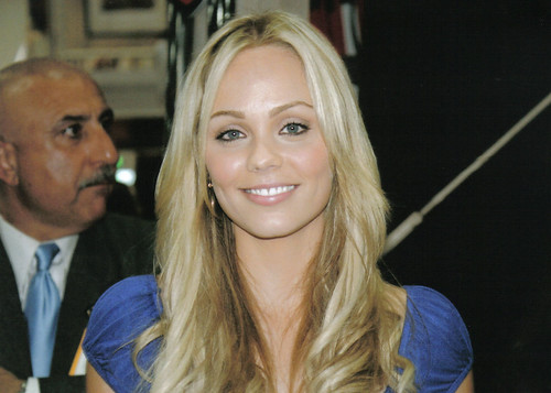"Laura Vandervoort from Warner Bros. ""Smallville"" - she plays Kara (Supergirl)"