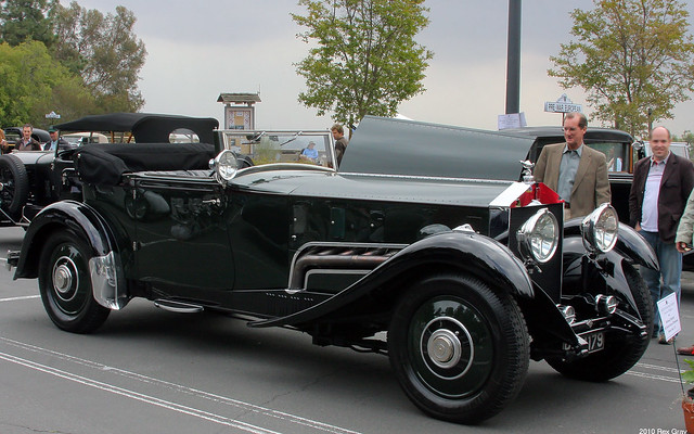 1931 Rolls Royce Phantom II 64GX Merlin Special DHC Wilkinsons - fvr