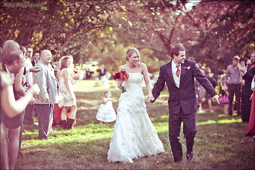 Kim and Bryan ~ The Bird Seed Tunnel