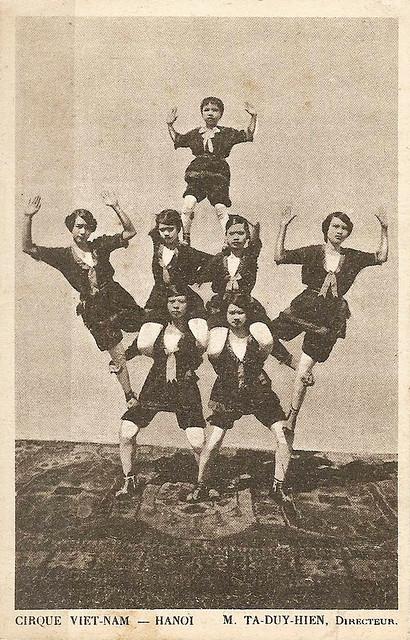 HANOÏ - Cirque VIETNAM, M. TA - DUY - HIEN, Directeur en 1923
