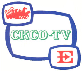 old school ckcotv kitchener logo the big e in the logo