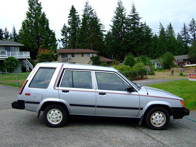1984 Toyota Tercel Wagon Flickr Photo Sharing