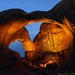 Double Arch - night time exposure - Arches National Park