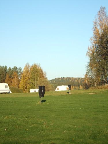 sky grass finland woods lawn keuruu isokirja