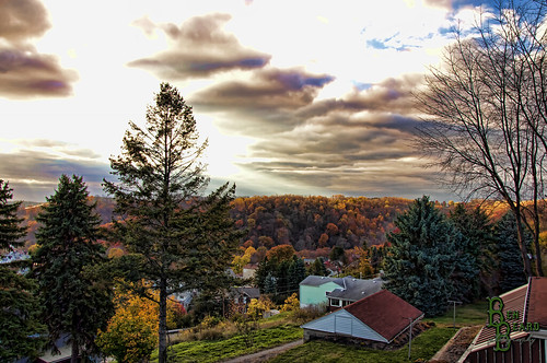 autumn trees houses homes winter summer sun fall public grass leaves clouds beard photography town leaf spring nikon pittsburgh photographer seasons view ben pennsylvania hill property foliage pa pitcairn vista monroeville hdr vr d90 nikond90 18mm105mm benbeard benbeardcom