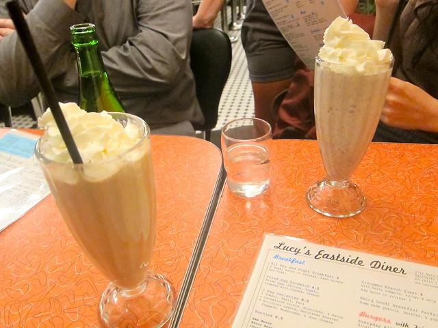 Milkshakes | Lucy's Eastside Diner