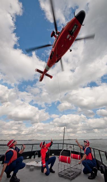 Coast Guard Rescue Practice 1
