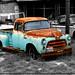 Old Truck by Juan Antonio Garza Lozano