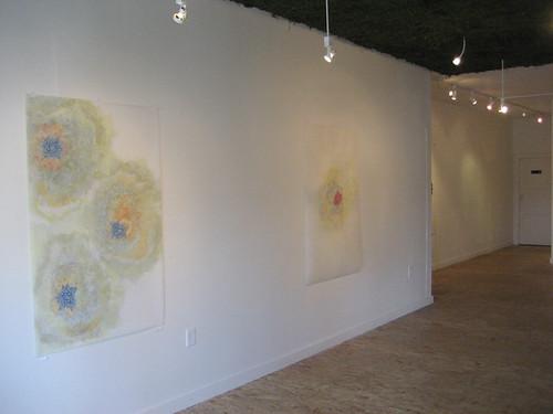 "Installation Shot :: Amanda Hughen - ""Engorget""  & ""Feastory"""