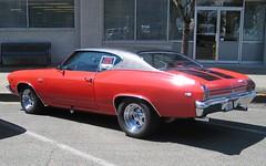 automobile, automotive exterior, vehicle, compact car, sedan, chevrolet chevelle, land vehicle, muscle car, sports car,