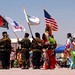 US Flag Ceremony de E- Pow Wow