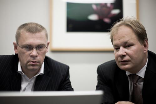 Mart Saarepera and Jaan Priisalu