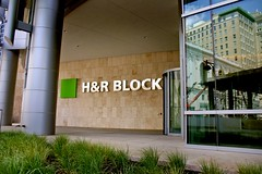 H&R Block Entrance