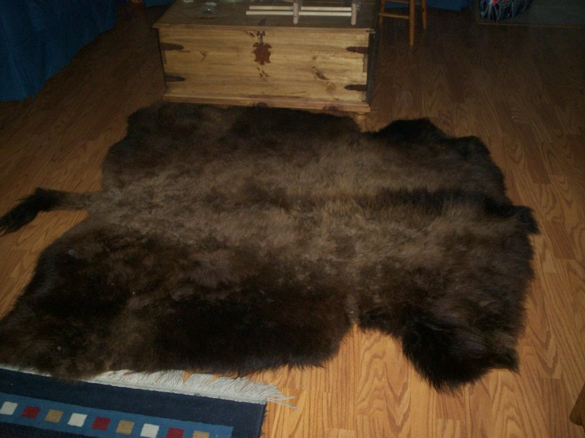 Small Buffalo Robe