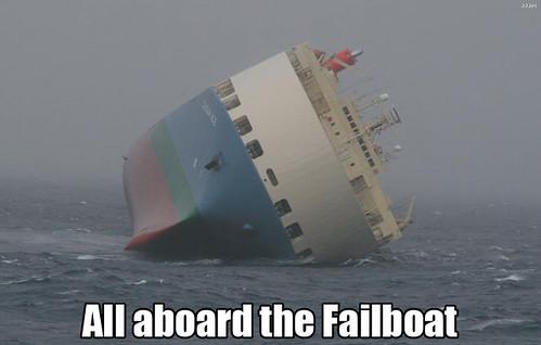 The Fail Boat