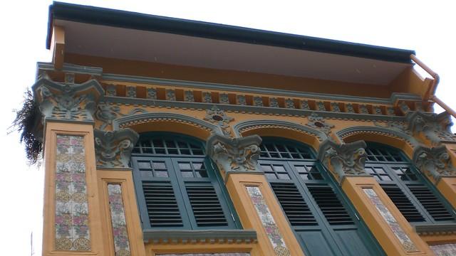 Húsin í Singapore