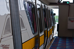 Monorail Doors Abstract