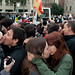 Lesbian and gay couples kiss in front of the Pope by rumpelstiltzkin