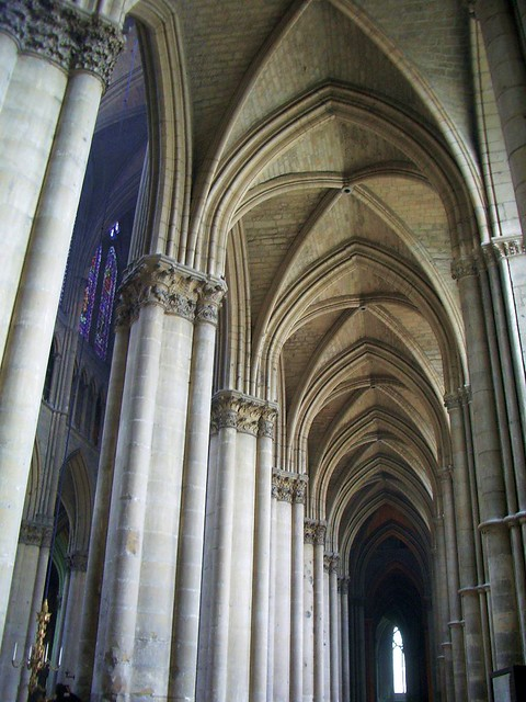 Reims - Gothic cathedral interior | Flickr - Photo Sharing!