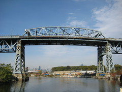 girder bridge, river, landmark, truss bridge, cantilever bridge, swing bridge, waterway, bridge,