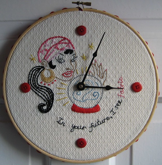 Time for fabric hoop by poppyprint flickr photo sharing