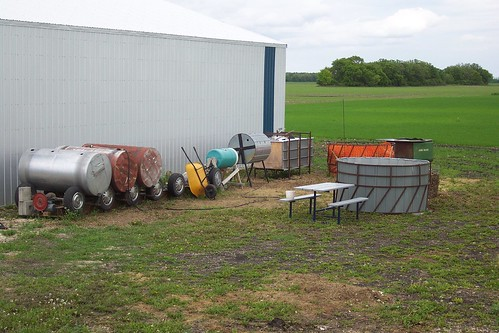 Composting area