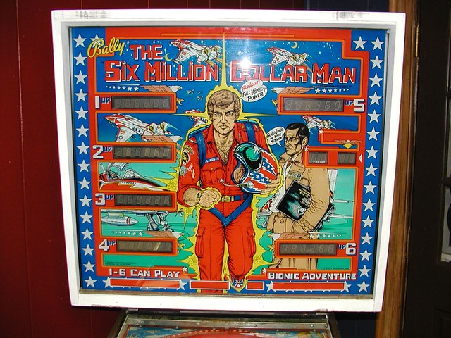 Bally Six Million Dollar Man