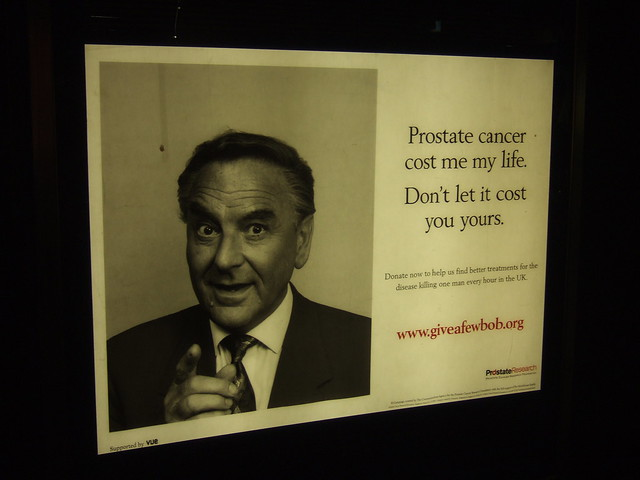 Bob Monkhouse poster from beyond the grave
