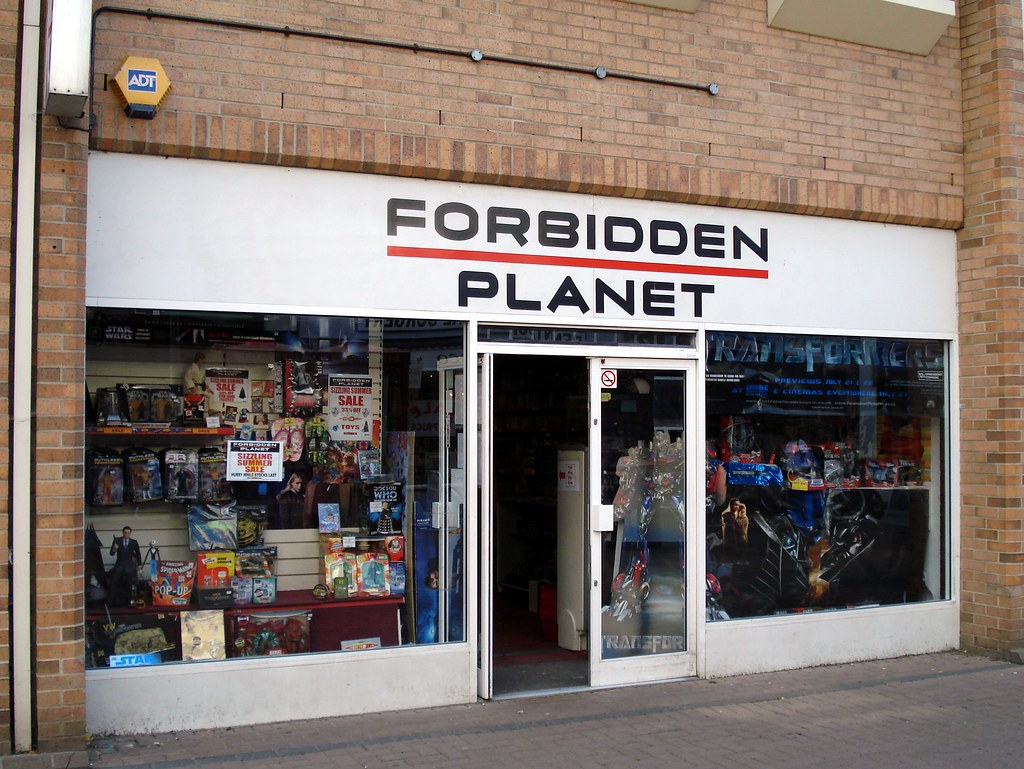 Forbidden Planet, Cambridge