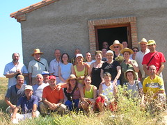 Grupo excursionistas Asociación Montón-Montonis