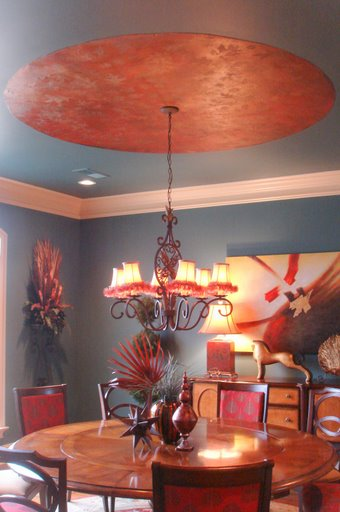 Whimsical Dining Room Ceiling | Flickr - Photo Sharing!
