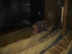 'Extra Seating' at Abandoned Theater