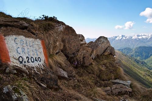 Colle Crest - 2040mt (Valle di Ribordone - TO, Parco Nazionale del Gran Paradiso, Piemonte)