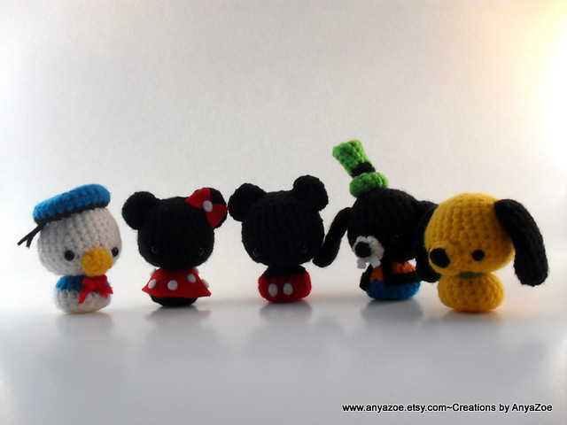 Amigurumi Disney Tutorial : Disney amigurumi Flickr - Photo Sharing!