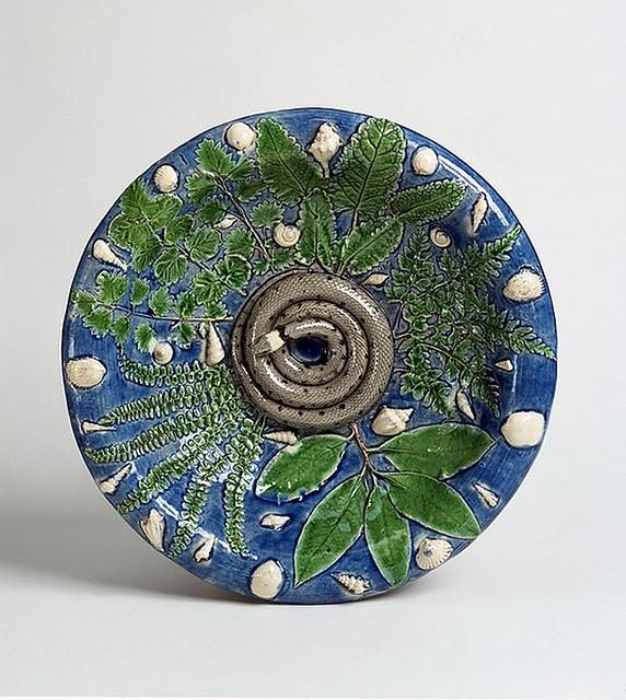 027-plato con serpiente-original-Bernard Palissy